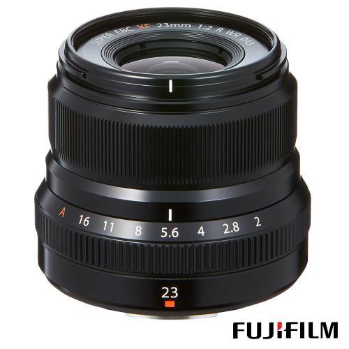 送STC UV 43mm保護鏡~ FUJIFILM 富士 XF 23mm F2 WR 定焦鏡(公司貨)
