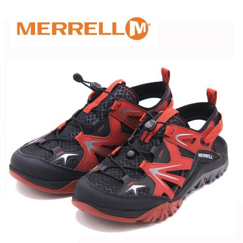 MERRELL CAPRA RAPID SIEVE水陸兩棲 涼鞋 男鞋-暗紅(另有灰)