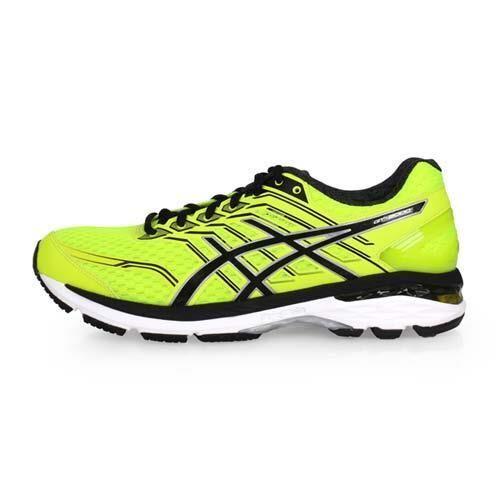 【ASICS】GT-2000 5 男慢跑鞋-路跑 亞瑟士 螢光黃黑
