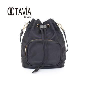 OCTAVIA - Sugar 束口小巧手提肩背水桶包 - 自信黑