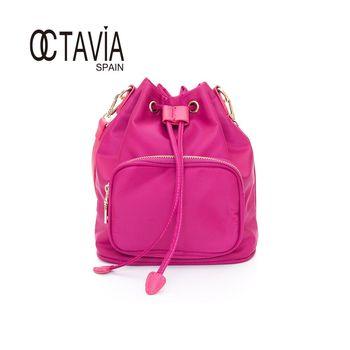 OCTAVIA - Sugar 束口小巧手提肩背水桶包 - 自戀粉