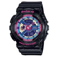 ~CASIO~BABY ^#45 G 多層次立體感繽紛色彩休閒 錶 ^#45 黑色 ^#4