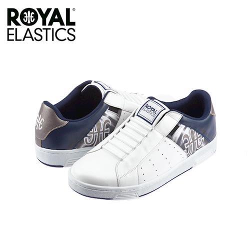 【Royal Elastics】男-Icon 休閒鞋-白/灰(02071-085)