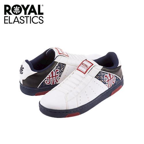 【Royal Elastics】男-Icon Alpha 休閒鞋-白/藍/紅(02071-055)