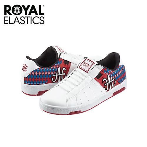 【Royal Elastics】女-Icon 休閒鞋-白/紅(92071-015)