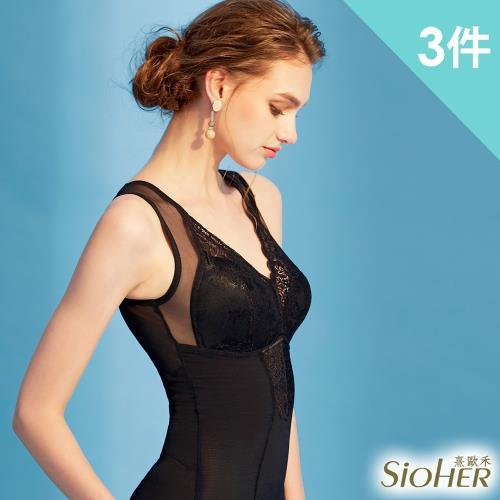 【SiOHER 熹歐禾】獨家專利曲線輕透美體衣 買二送一(隨機) 塑腰背心款