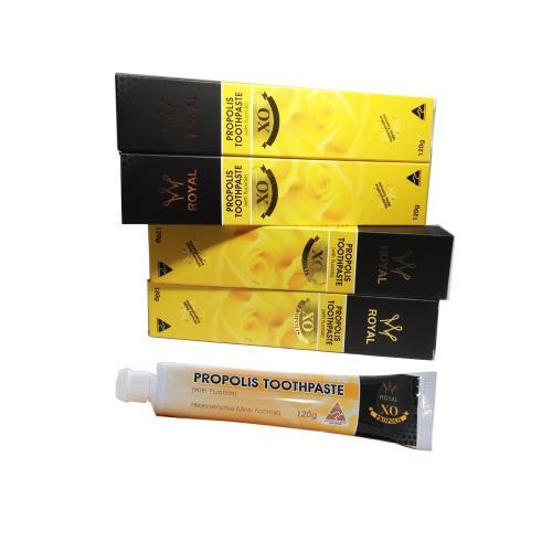 澳洲Natures Care 皇家陳年蜂膠牙膏含氟化物薄荷口味( 4入組,120g/條) 蜂膠牙膏
