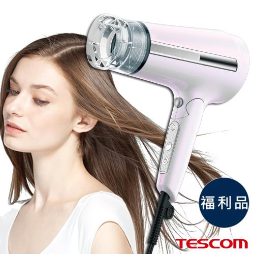 福利品 TESCOM 國際電壓負離子吹風機 TID65JTW 負離子吹風機