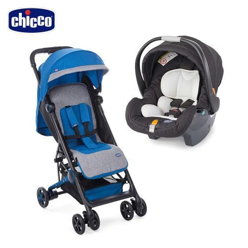 chicco-Miinimo輕量摺疊手推車+keyfit手提汽座(無底座版)|傘車
