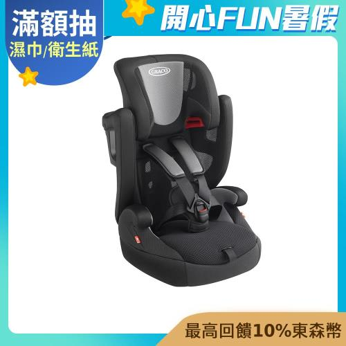 【Graco】AirPop(2-12歲嬰幼兒成長型輔助汽座)|成長型