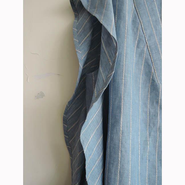 【龐吉 PANGCHI】波浪條紋無袖上衣(1713002-31-32)