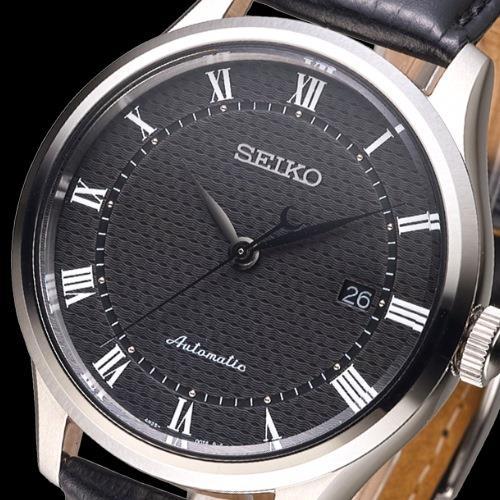 detailed look da16f 5aabc SEIKO 完美情人羅馬刻度自動機械錶-黑(SRP769K2) ○新品 ...