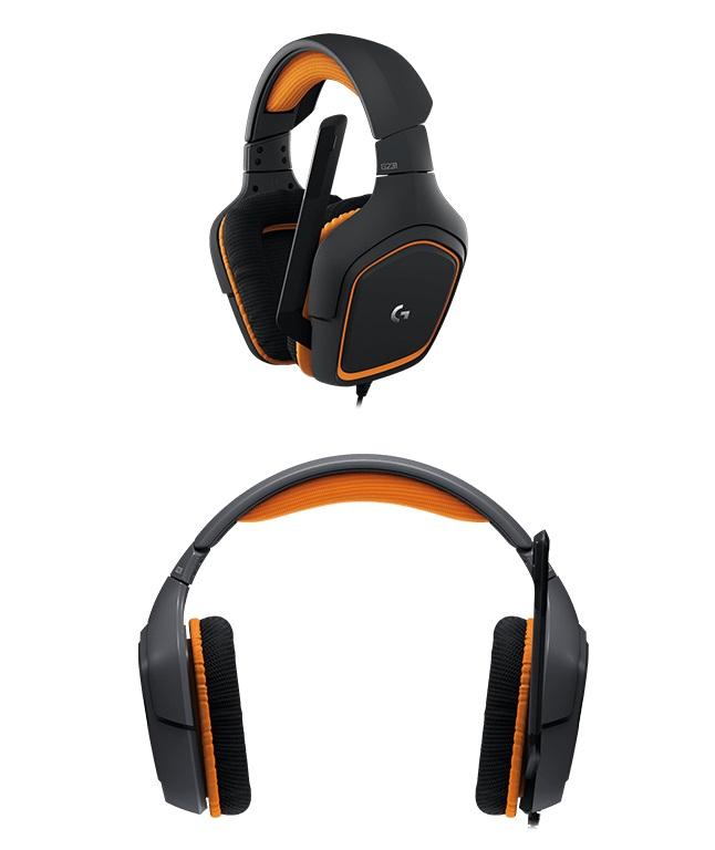 「羅技 Logitech G231 Prodigy遊戲耳機麥克風 981-000630」的圖片搜尋結果