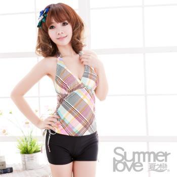 【夏之戀SUMMERLOVE】俏麗款長版二件式泳衣-1188限時出清價