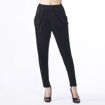 BELLA VITA 100%蠶絲180G超重磅數哈倫長褲