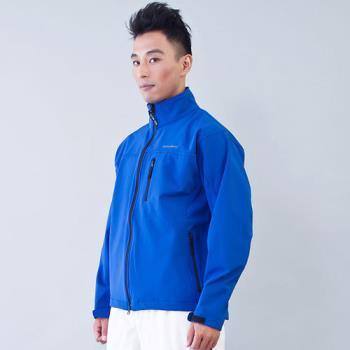 TECL-WOOD《96615》防風防水透氣保暖男外套(寶藍色)