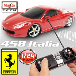 【FERRARI】 458 Italia 1:24 無線遙控模型車