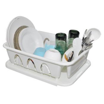 【收納達人】二用可導水滴水碗盤架