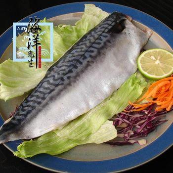 海洋先生 超值組~DHA挪威薄鹽鯖魚切片150g *18+2片