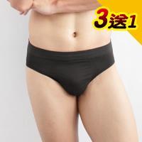 【源之氣】極品竹炭男三角褲(超值3入) RM-20033