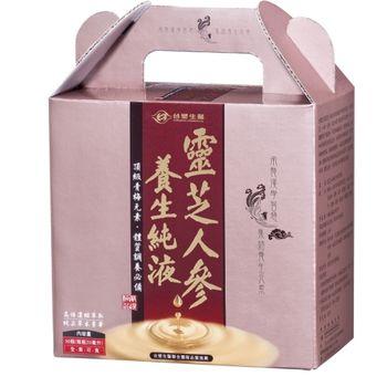 《台塑生醫》靈芝人參養生純液 (20ml x30瓶)