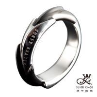原生飾代SilverKings-無限延伸-銀色-頂級白鋼工藝戒指