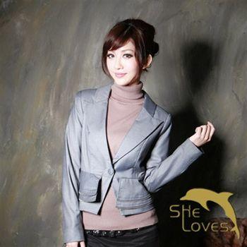 【SHELOVES】宮廷淑女設計款西裝外套M~XL
