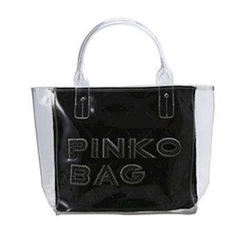 PINKO夏日白色透明水晶包 12D035 fume