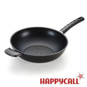 【HAPPYCALL】鑽石塗層不沾深炒鍋(30cm)
