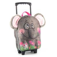 德國 okiedog 兒童3D動物造型系列-拉桿式行李箱(大象)
