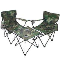 【超值3入】好舒適戶外休閒折疊桌椅組