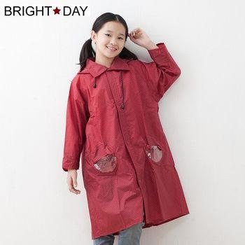 BrightDay風雨衣連身式 - 日系印花兒童款