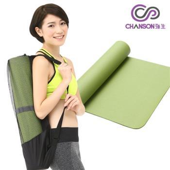 CHANSON強生 瑜珈6mm運動墊-藍或紫