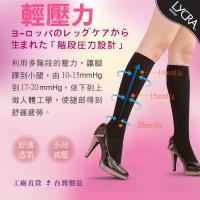 【老船長】快適機能襪多功能健康護腿6入(黑色) 階段壓力設計