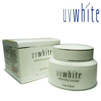 【資生堂】UV White 優白 美白按摩霜 100g