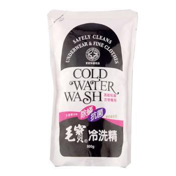 毛寶 防蹣抗菌冷洗精補充包 (800g X 3入/組)