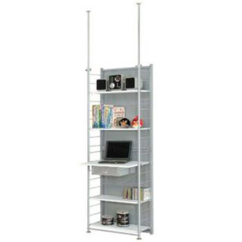 【巴塞隆納】SD60伸縮屏風電腦桌架置物架
