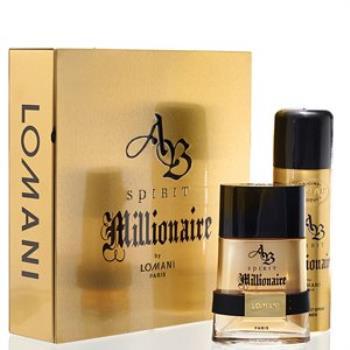 LOMANI 羅曼尼  MILLONAIRE百萬男星男性淡香水禮盒