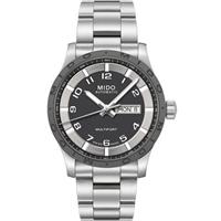 MIDO Multifort 先鋒系列時尚機械腕錶-灰x銀