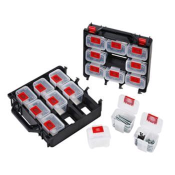 18件多功能收納提盒-組合式五金零件盒