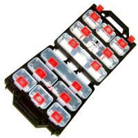 12件多功能收納提盒-組合式五金零件盒