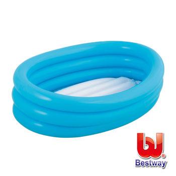 【Bestway】嬰兒充氣水池-藍