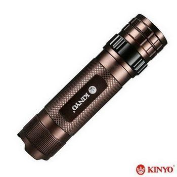 【KINYO】兩用調光式露營燈手電筒-LED-829