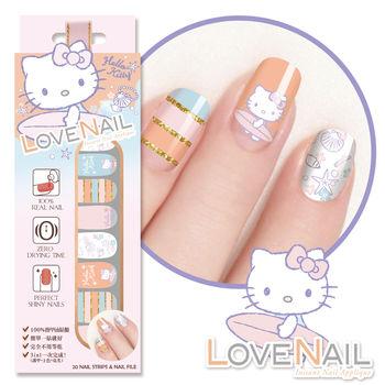 【LOVE NAIL】Hello Kitty x LOVE NAIL限定版指甲油貼-海灘風情