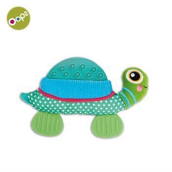 【瑞士OOPS烏噗司】寶寶強壯玩具(固齒器-烏龜)