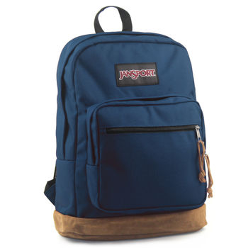 JanSport 校園背包(RIGHT PACK)-深藍