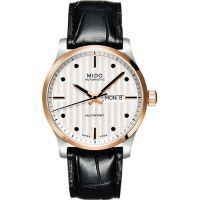 MIDO Multifort 系列經典皮帶腕錶-玫塊金 M0054302603122