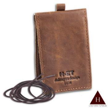 【H-CT】質感直式頸掛式證件悠遊卡套(IRB01-Z)