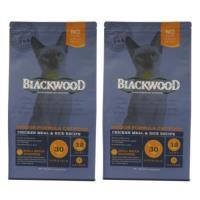 Blackwood 柏萊富 室內貓全齡優活配方(雞肉+米) 貓飼料 4磅*2包
