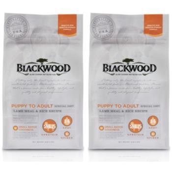 【Blackwood】柏萊富 功能性全齡護膚亮毛配方(羊肉+米)5磅 X 2包
